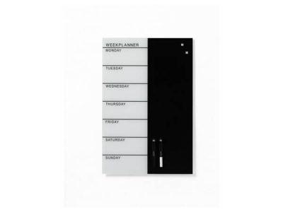 naga week planner 40x60 black & white
